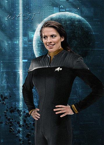 Lieutenant Commander T'Pral Jordan