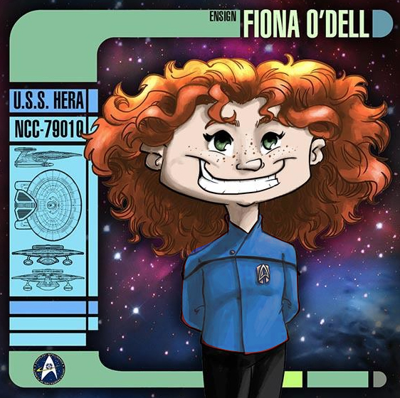 Ensign Fiona O'Dell