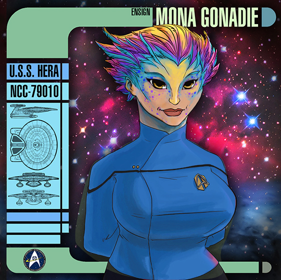 Lieutenant Mona Gonadie