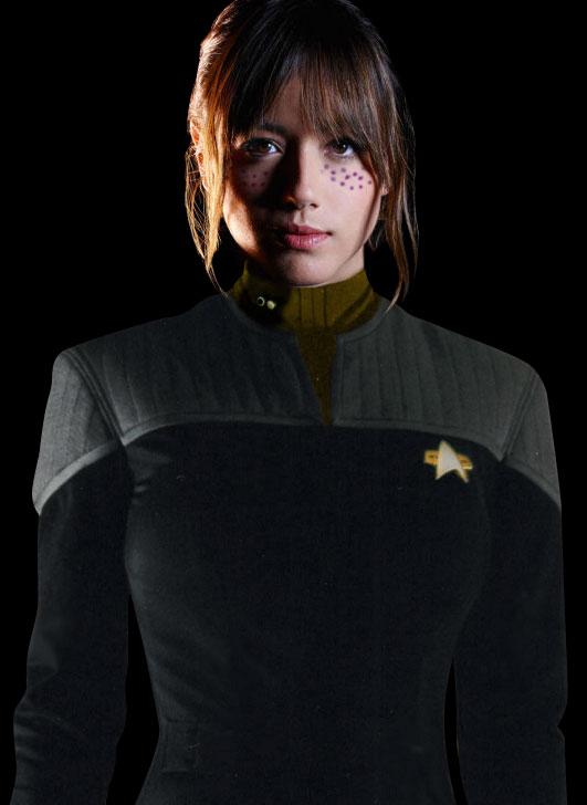 Lieutenant JG Karina Sha'ha'zen