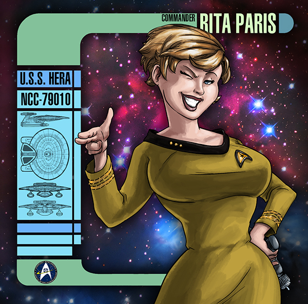 Commander Rita Paris