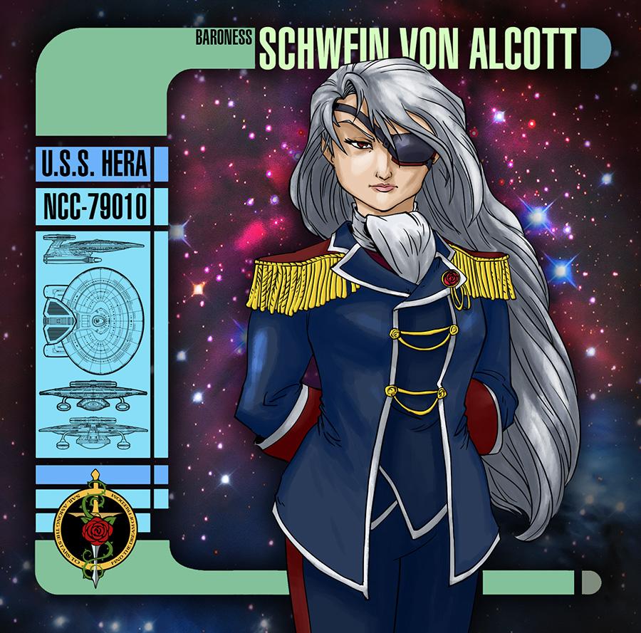 Baroness 2nd Class Schwein von Alcott