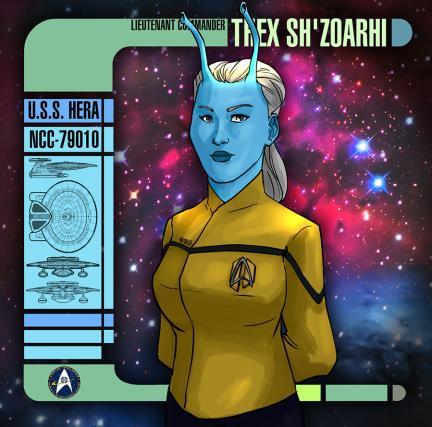 Lieutenant Commander Thex sh'Zoarhi