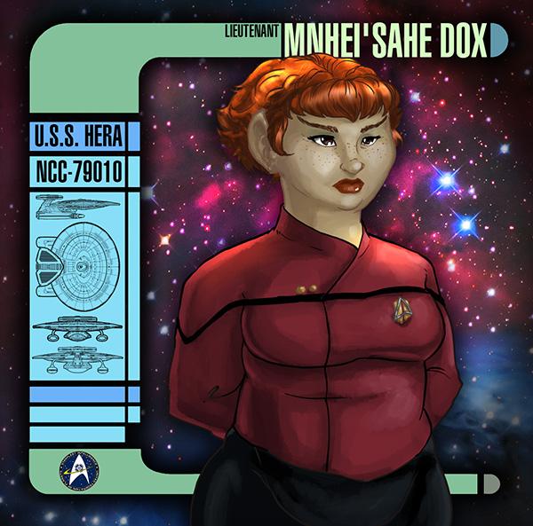 Lieutenant Mnhei'sahe Dox